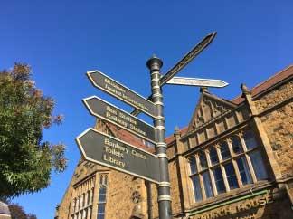 signposts in banbury