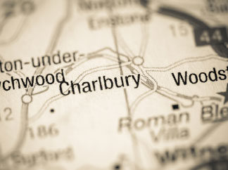 map of charlbury area