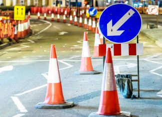 roadworks in banburyshire