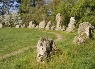 the ancient rollright stones