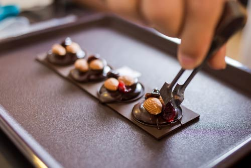 creative classes for chocolate making