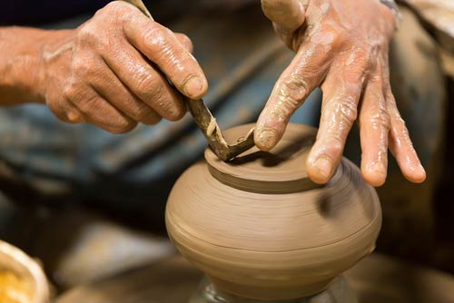 creative classes for pottery