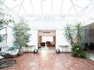 architect's garden interior arboretum