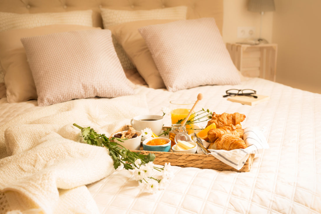 bed in breakfast served in a banburyshire country house