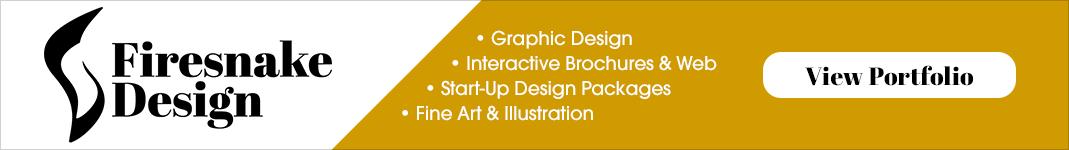 Firesnake Design – Graphic Design, Interactive Brochures & web, Start-Up Packages, Fine Art & Illustration